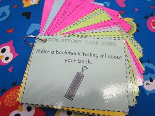 Great post about setting up literacy workstations in upper elementary! So many ideas.