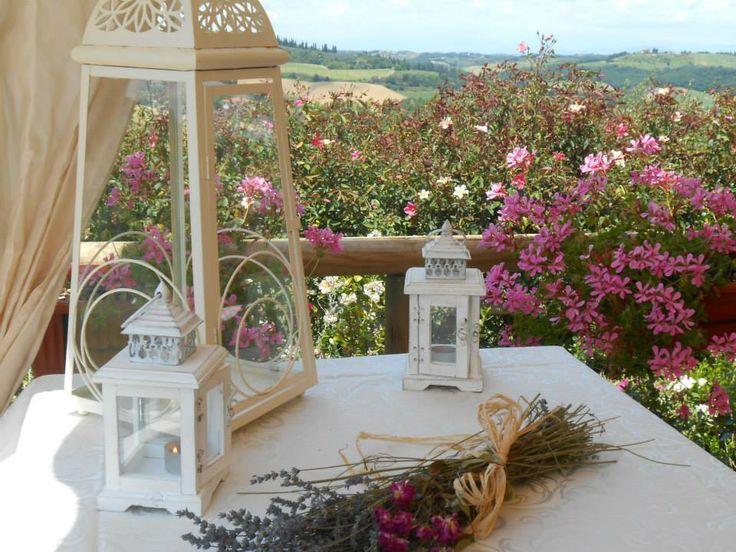 Cena Romantica a lume di candela all'agriturismo ristorante romantico Taverna di Bibbiano tra Siena e San Gimignano, ideale per il vostro weekend romantico in Toscana