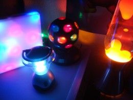 Lists many ideas for a sensory room to engage all of a person's senses.