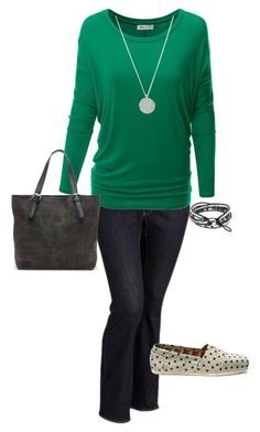 """""""Plus Size Outfit, Casual Fall Outfit"""" by jmc6115 on Polyvore featuring Old Navy, TOMS, Fall, plussize and fallfashion"""