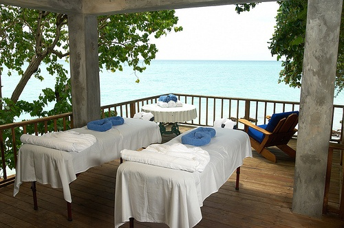 Massages on the Beach... YES PLEASE! Bluefields Bay Jamaica Villas