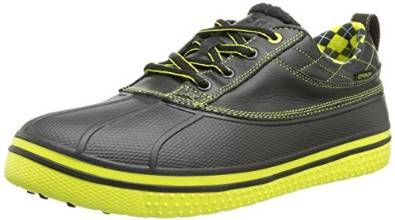 100% synthetic these mens allcast duck golf shoes by Crocs will ensure you have a comfortable day on the golf course