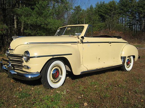 Convertible For Sale >> 1948 Plymouth Convertible Classic Plymouth For Sale in Warrensburg, NY A00038 | Want Ad Digest ...