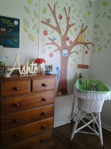 I could spend hours in my sons peaceful nursery