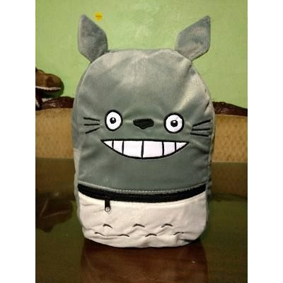 Mochila De Moda Totoro Anime De Peluche - $ 280.00