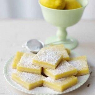 Citronrutor - Recept från Mitt kök - Mitt Kök | Recept | Mat | Vin | Öl