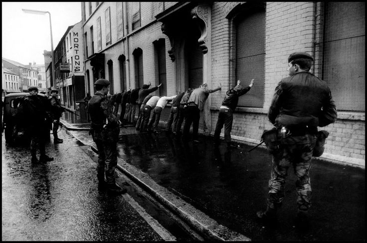 NORTHERN IRELAND. Belfast. 1972. Battle between IRA and British Army.