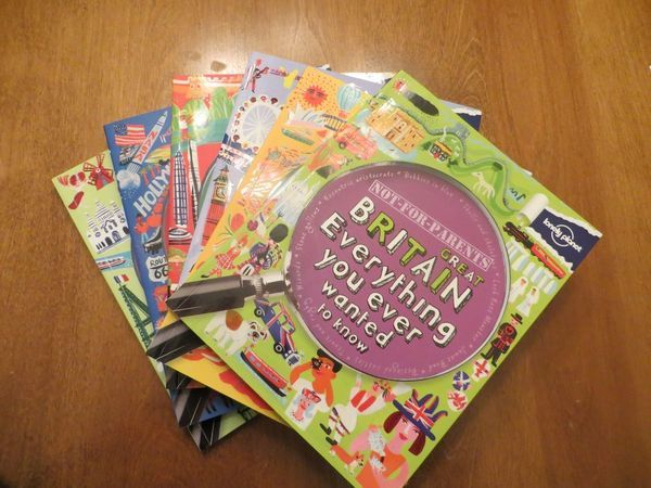 Review of Lonely Planet's Not-for-Parents series of guide books