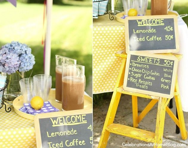 40 best images about lemonade stand on pinterest lemon for Lemon shaped lemonade stand