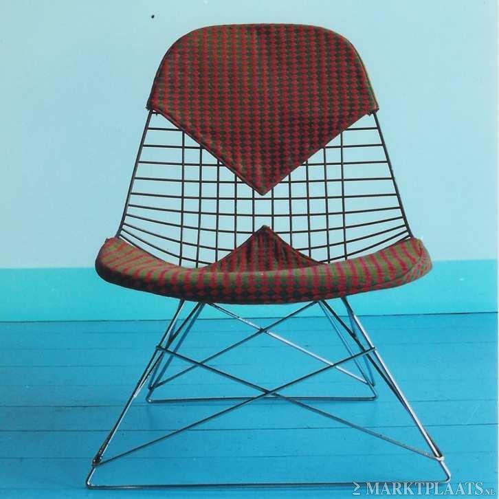 Marktplaats nl  u0026gt; Bikini Wire Chair Charles Eames design stoel   low rod   Huis en Inrichting