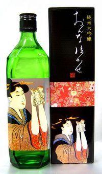 純米大吟醸  おんな泣かせ 。Sake.