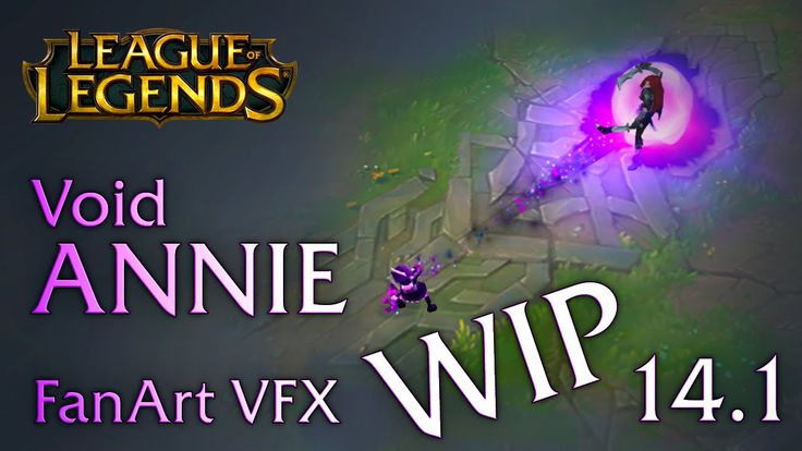 WIP version of my fan-made VFX for VOID Annie. All feedback is greatly welcome! :)  Music from Riot Games Sound Design by Quinn Boyce-Bacon  Interactive Player: http://www.sirhaian.net/portfolio/LeagueOfEffects (Doesn't work in Chrome, sorry guys)  Check out my social accounts for WIPs and more: https://twitter.com/Sirhaian https://www.facebook.com/sirhaian.arts  Disclaimer: I do not claim any rights on the model and its animation, I only use it for practice purposes.