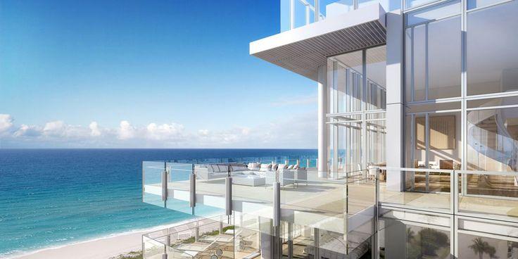 'the surf club' by richard meier & partners  + kobi karp architecture in maimi, FL, USA