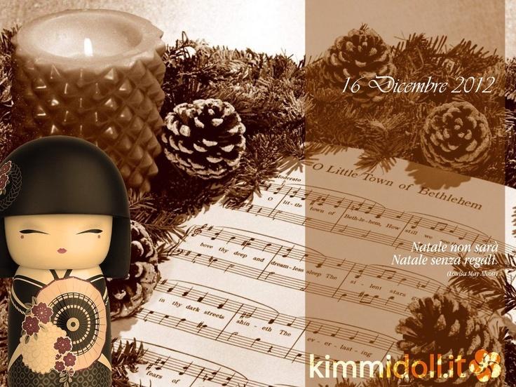16 Dicembre 2012 #Kimmidoll #Christmas