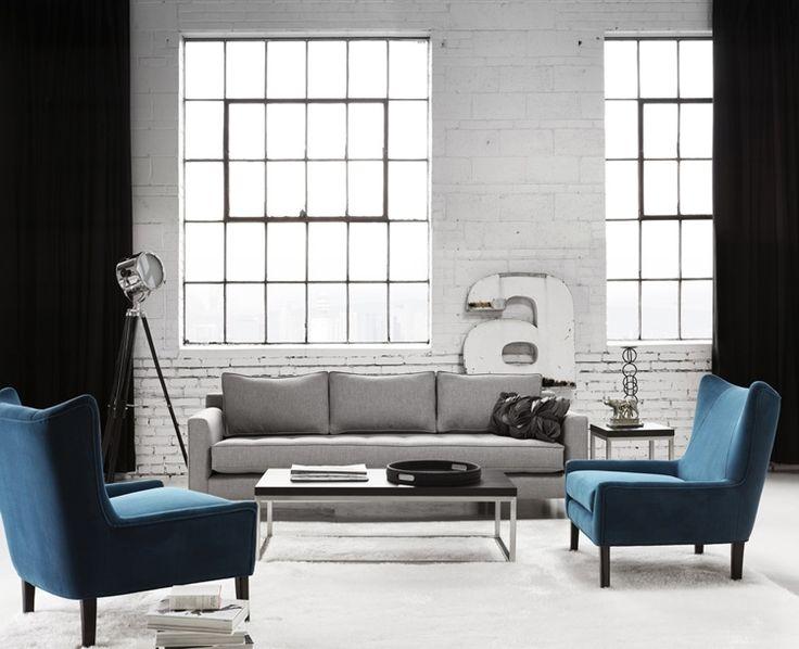 Draper sofa dakota chairs g romano g romano for Meuble quebecois design
