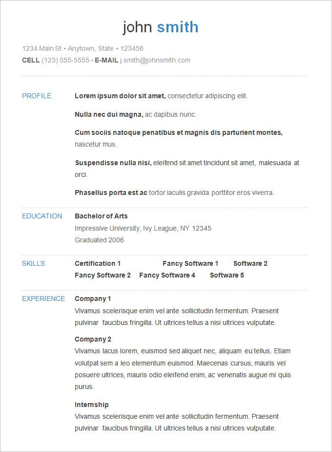 25+ ideias exclusivas de Basic resume examples no Pinterest - resume download template