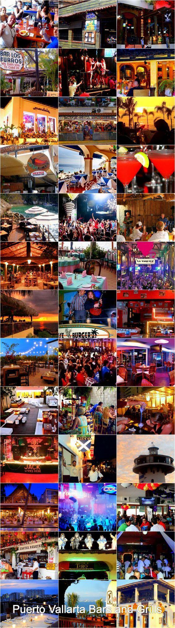 List of bars & grills in Puerto Vallarta: http://www.puertovallarta.net/what_to_do/puerto-vallarta-bars-and-grills.php Lista de grills y bares en Puerto Vallarta: http://www.puertovallarta.net/espanol/que-hacer/bares-grills-en-puerto-vallarta.php #vallarta #puertovallarta #bares #bars #grills #jalisco #mexico