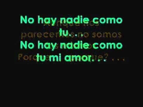 No hay nadie como tu ~ Calle 13 & Cafe Tacuba (letra)