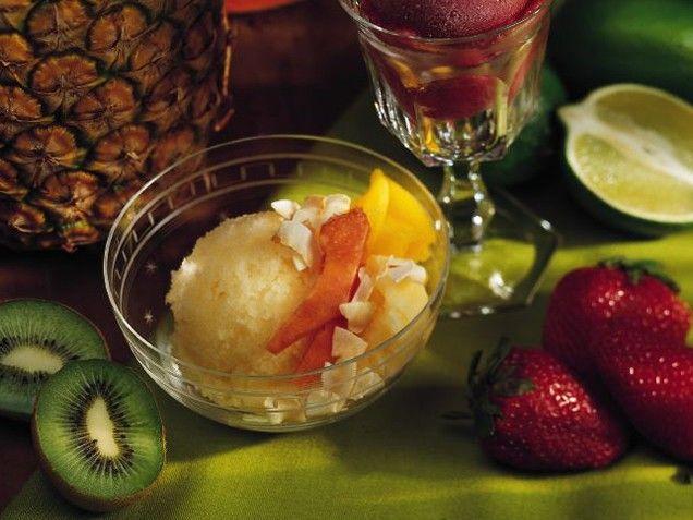 Tropical Fruit Ice | Recipe