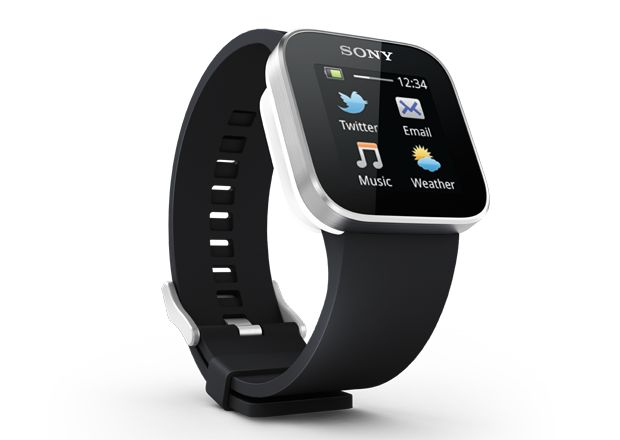 SmartWatch Android watch - The Sony SmartWatch ($150) has a 1.3-inch OLED