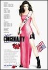 """Miss Congeniality - 2000    Cuando el objetivo de un asesino en serie es la ganadora del concurso de Miss Estados Unidos, el FBI decide enviar una agente infiltrada a participar en el concurso. La mejor candidata que encuentran para la misión es Gracie Hart, una agente de modales un tanto hoscos y poco femeninos. Aparece como Miss New Jersey, y, ante su total falta de """"glamour"""", los organizadores deciden buscarle un representante que le enseñe todos los trucos del mundo de la pasarela."""