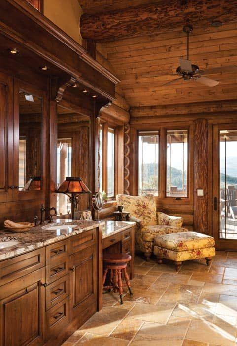 south fork cabin bathroom