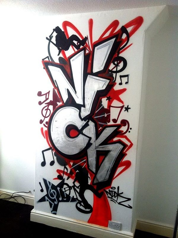 Easy Graffiti Ideas : graffiti, ideas, Painting, Ideas, Complete, Luxurious, Graffiti, Murals,