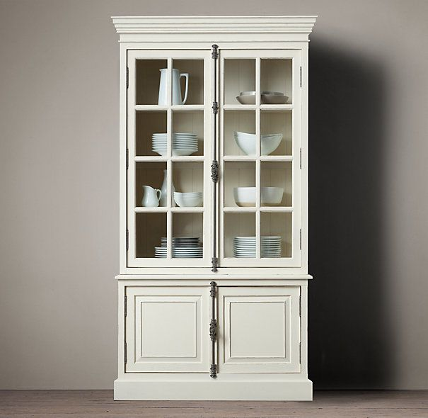 French Casement Sideboard Hutch Restoration Hardware Dining Room P