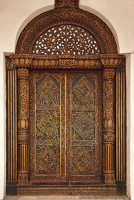 Africa | House of Wonders Inside Door. Toward the end of an extravagant building spree, Sultan Khalid bin Barghash (reigned in 1870-1888) had built in 1883 a palace known as House of Wonders (Beit el-Ajaib) that was indeed wonderous for its time. It remains one of the largest structures in Zanzibar and is today home to the Zanzibar National Museum of History & Culture. | Caption and Image © Robert Naso