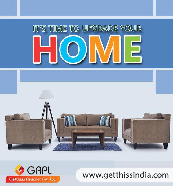 Sell your old furniture make way for a new one. #Buy or #Sell used #furniture online at #GRPL, there are many buyers looking for used furniture in good condition. Connect to them.