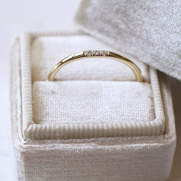 Whether it's a wedding band graduation present promise ring or simple band - it's all in the details. Coming soon - all the diamond bands