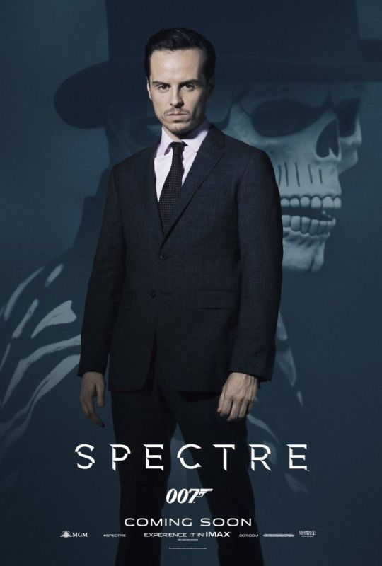 Max Denbigh also known as C (Andrew Scott) - Spectre