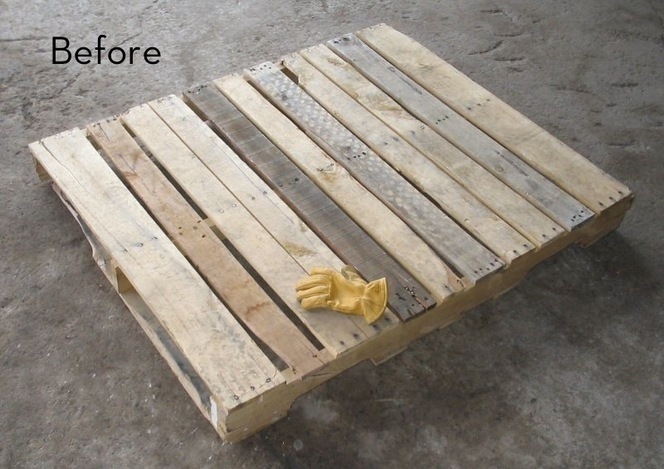 Kick ass swing idea....don't necessarily need a pallet though. But if you can get them for free this might be a great idea!!