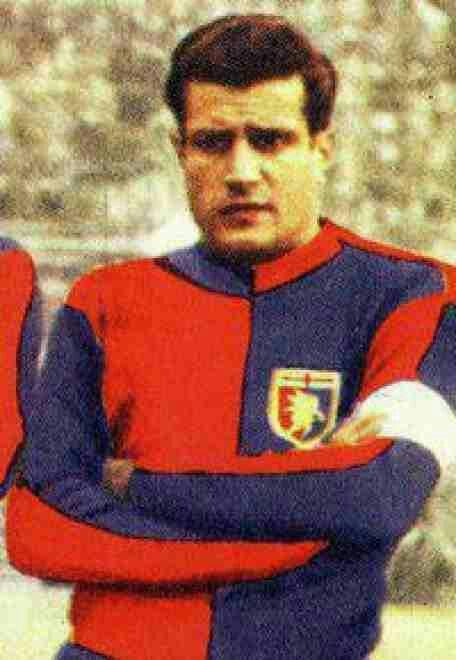 Julio Abbadie of Genoa & Uruguay in 1958.
