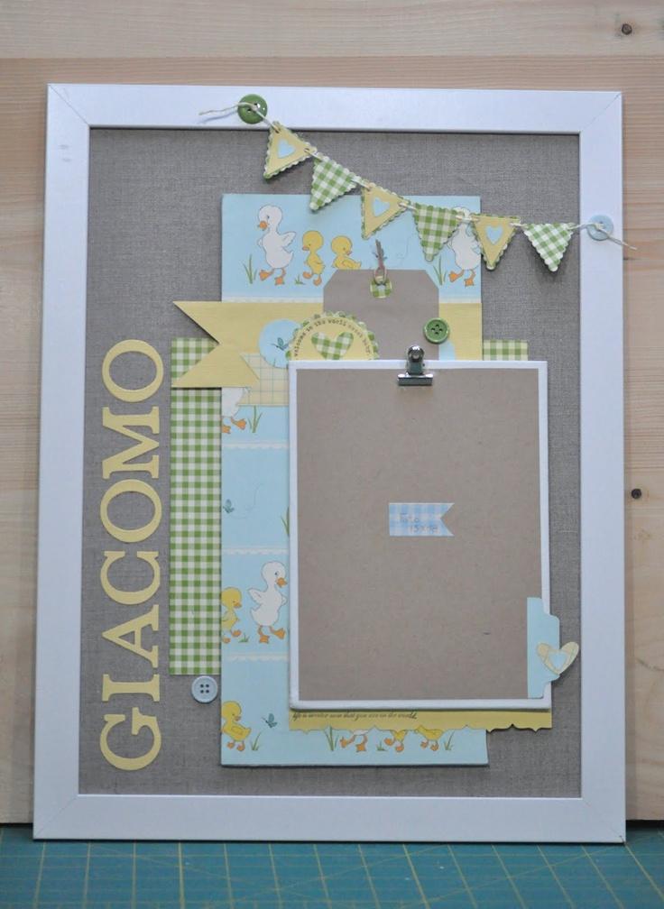 Hobby di Carta - Il blog: ALTERED: Cornici cornici cornici by Manu
