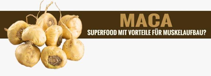 #Maca Wurzel - #Superfood mit Vorteile beim #Muskelaufbau?