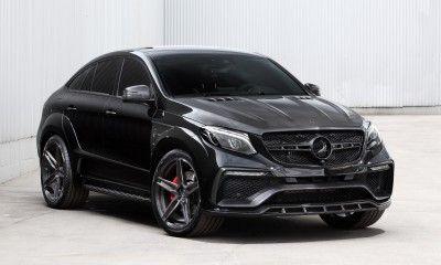 Mercedes Benz GLE Coupe Black