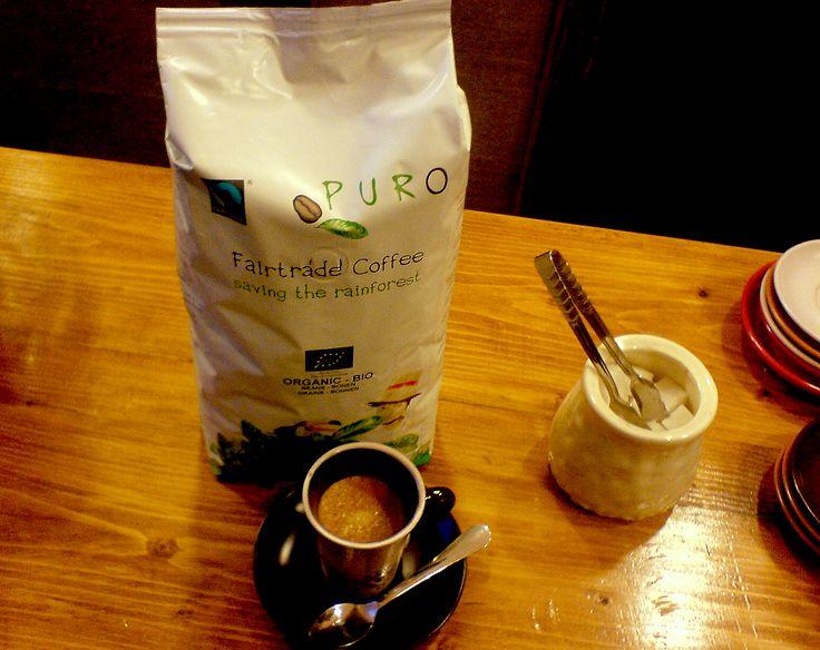 Organic, bio coffee