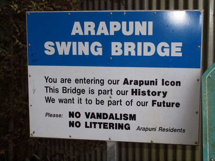 arapuni swing bridge - Google Search
