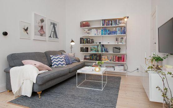 nordico moderno estilo estilo nórdico decoración salones comedores nórdicos decoración interiores nórdicos decoración espacios pisos pequeño...