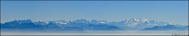 Les Alpes vue du Mont d'Or | Flickr: Intercambio de fotos