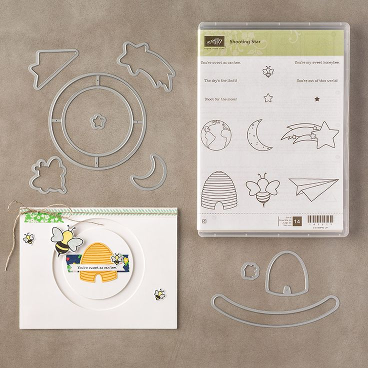 Shooting Star Clear-Mount Bundle by Stampin' Up!