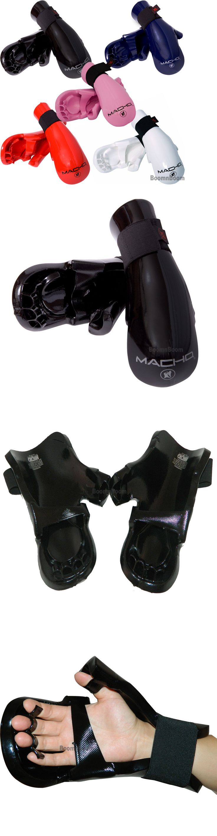 Hand Wraps 179779: Taekwondo Karate Mma Hand Protector Glove Macho Dyna Punch Mitts Sparring Gear -> BUY IT NOW ONLY: $30.0 on eBay!