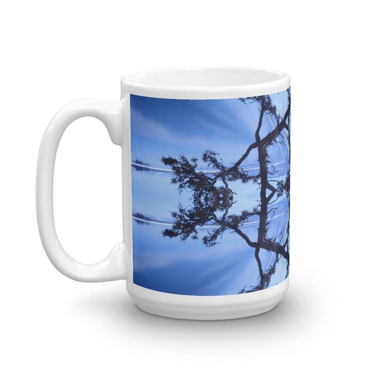 Mug, Wayfarer's Park, Bigfork Montana, Coffee Cup, Large