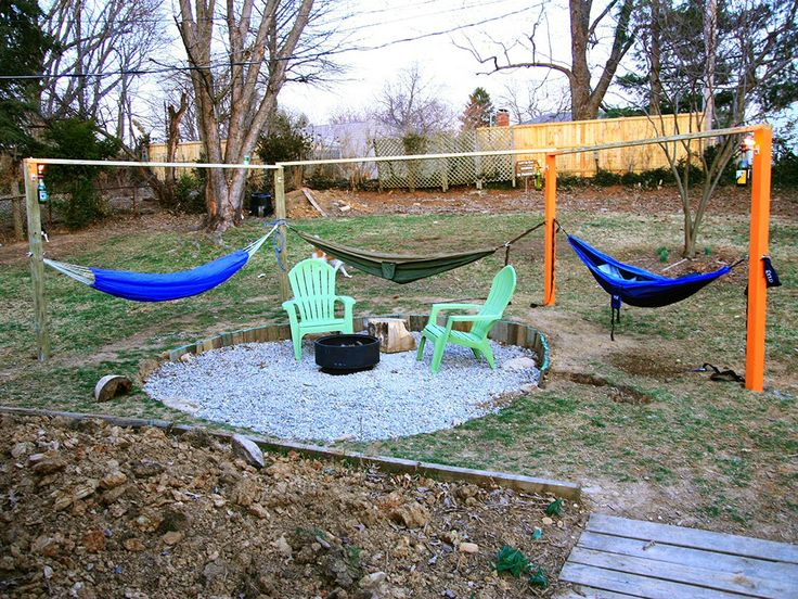 Hammock Fire Pit Surround Part 1 My Old Kentucky House