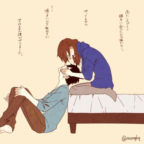 「「深町なか」のイラストで女の子ならだれでもきゅん!Twitterでも人気の理想のカップルがかわいすぎる」のまとめ枚目の画像|MERY [メリー]