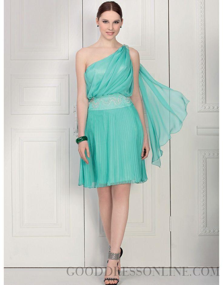 A-line Chiffon Bridesmaid Dresses with Sashes / Ribbons