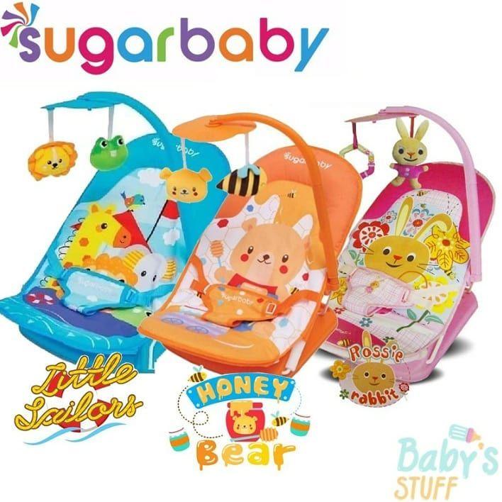 Sugar Baby 3 Recline Infant Seat Bouncer Tempat Duduk Bayi
