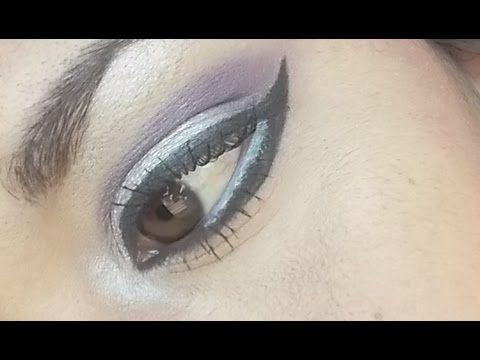 Check this makeup video out -- maquillaje gyaru morado-perla a mi manera on MakeupBee