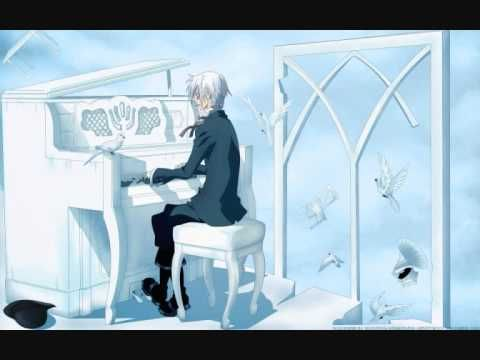 Anime/manga: D. Gray-Man Character: Allen, Tried playing some of it on the piano, got like the first 5 seconds done (I play piano, harp, and percussion).